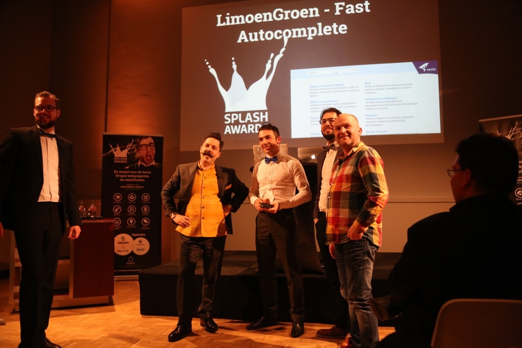 Splash Awards 2016 voor LimoenGroen