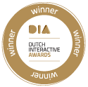Dutch Interactive Awards winner badge