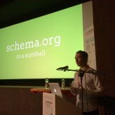 Baris Wanschers spreekt over Schema.org op Frontend United in Gent